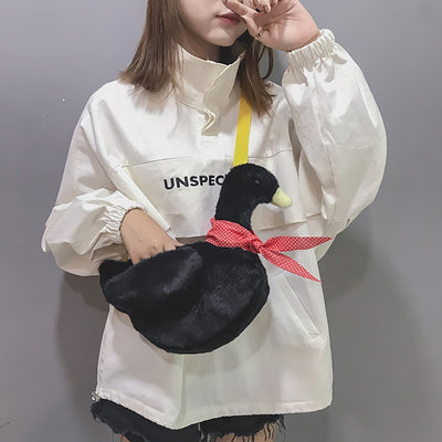 Little Duck Purse Plush Shoulder Bag