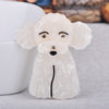 Lovely Poodle Dog Shape Brooch