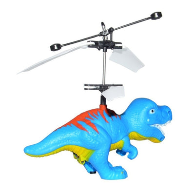Flying Dinosaur Model Electric Helicopter RC Toy