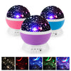 LED Rotating Star Projector Moon Starry Sky Night Night