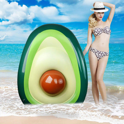 Giant Avocado Swimming Pool Float Mattress Lounger Raft