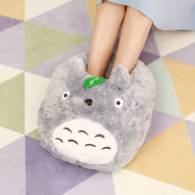 Cute Animal Soft Plush Large Slipper Warm Anti-Slip