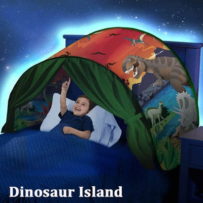 Kids Dream Bed Tents with Light Storage Pocket