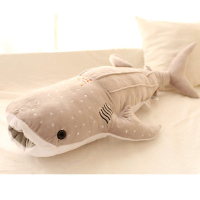 Big Blue Shark Whale Fish Plush Stuffed Doll Toys Doll