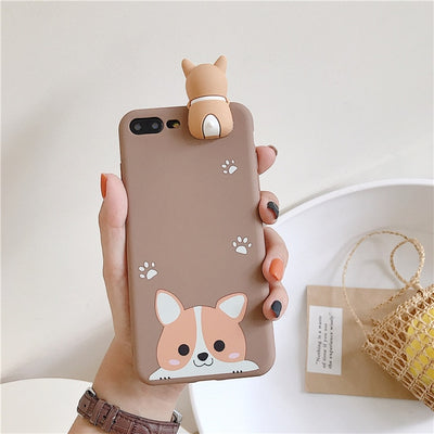 Welsh Corgi Dog Case Soft TPU Phone Cases for Huawei