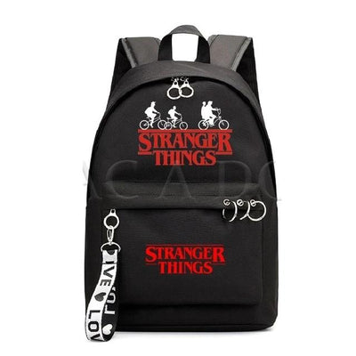 Stranger Things Fasion Canvas School Bag Backpack