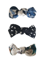 Load image into Gallery viewer, Top knot silk headband - Multiple colours available