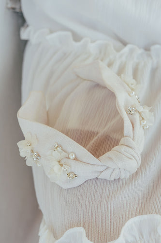 KELLY | Embellished Bridal Statement Headband
