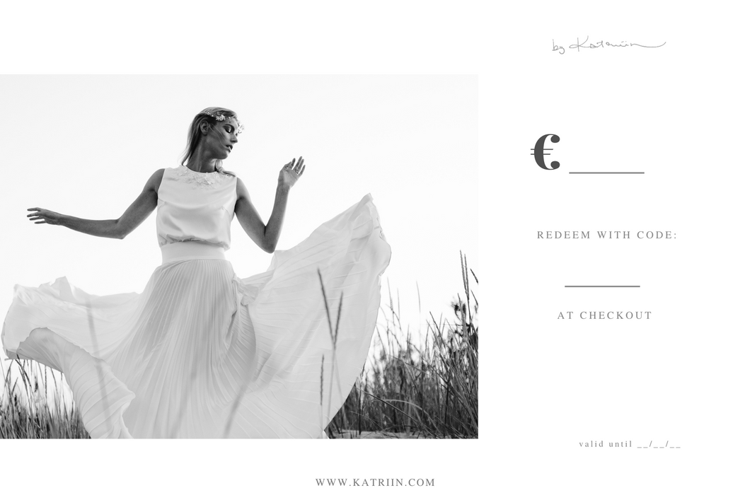 by Katriin Gift Card 15€-500€