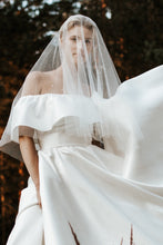 Load image into Gallery viewer, ESTELLE | Swarovski crystal embellished bridal veil - byKatriin