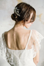 Load image into Gallery viewer, JOSEPHINE | Bold luxurious sparkling bridal hair comb - byKatriin