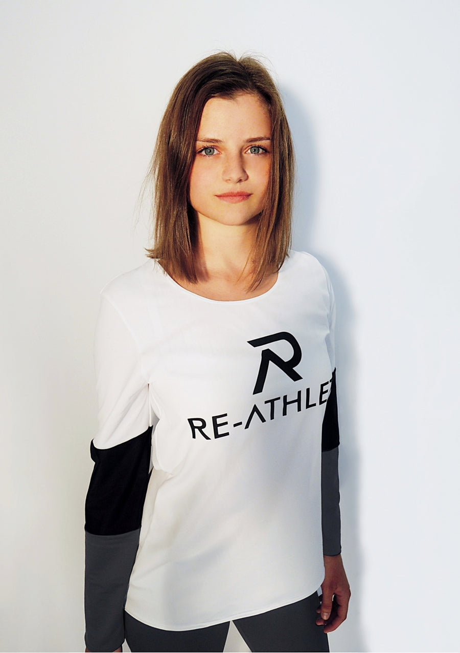 Re-Athlete 'Tricolor' Longsleeve