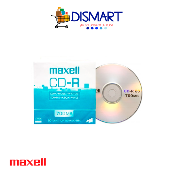 CD-R Grabable de 700MB