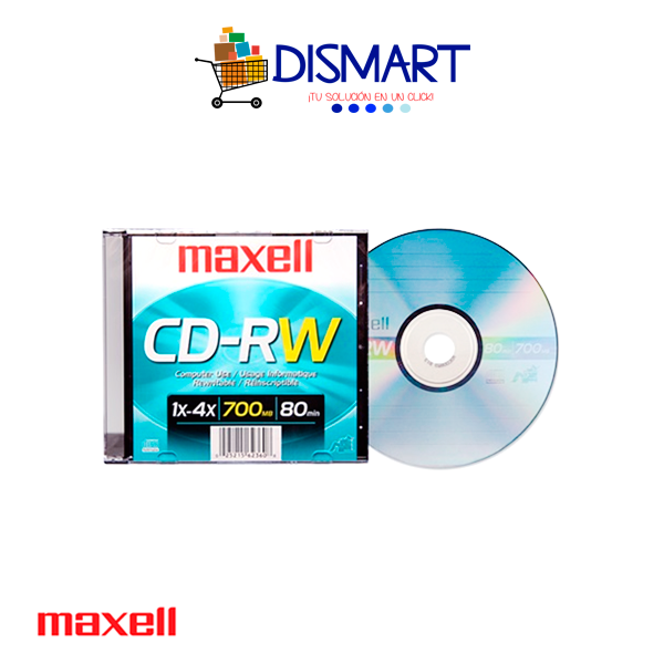 CD-RW Regrabable de 700MB