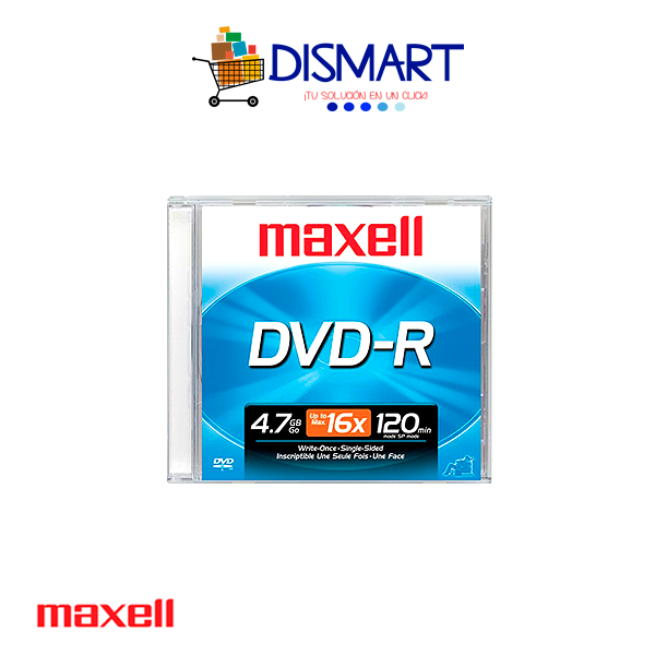 DVD-R Grabable de 4.7GB