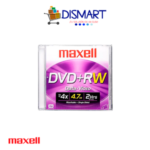 DVD+RW Regrabable de 4.7GB