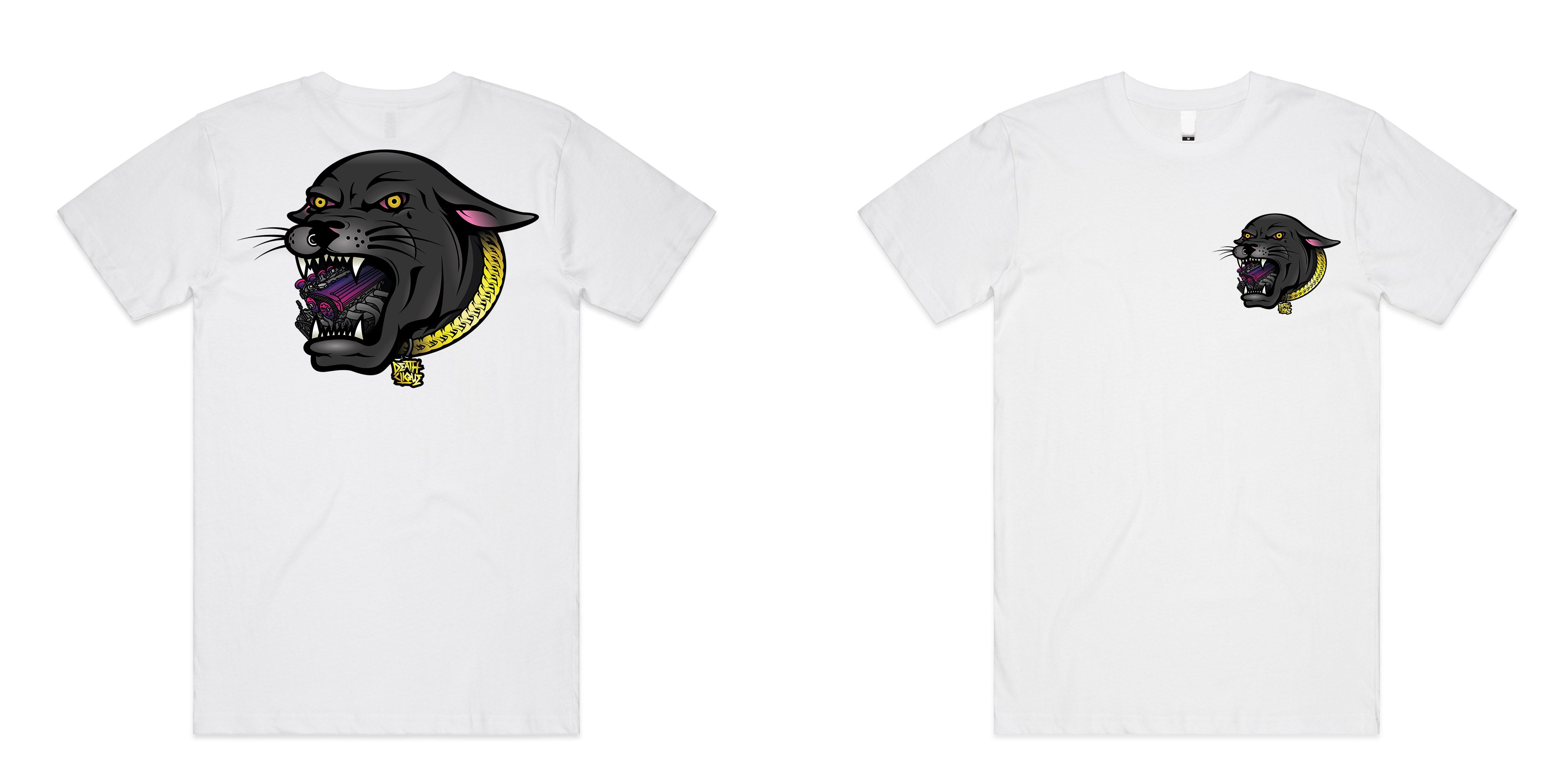 4AGE Panther Tee - White