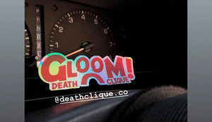 Gloom Slap Sticker