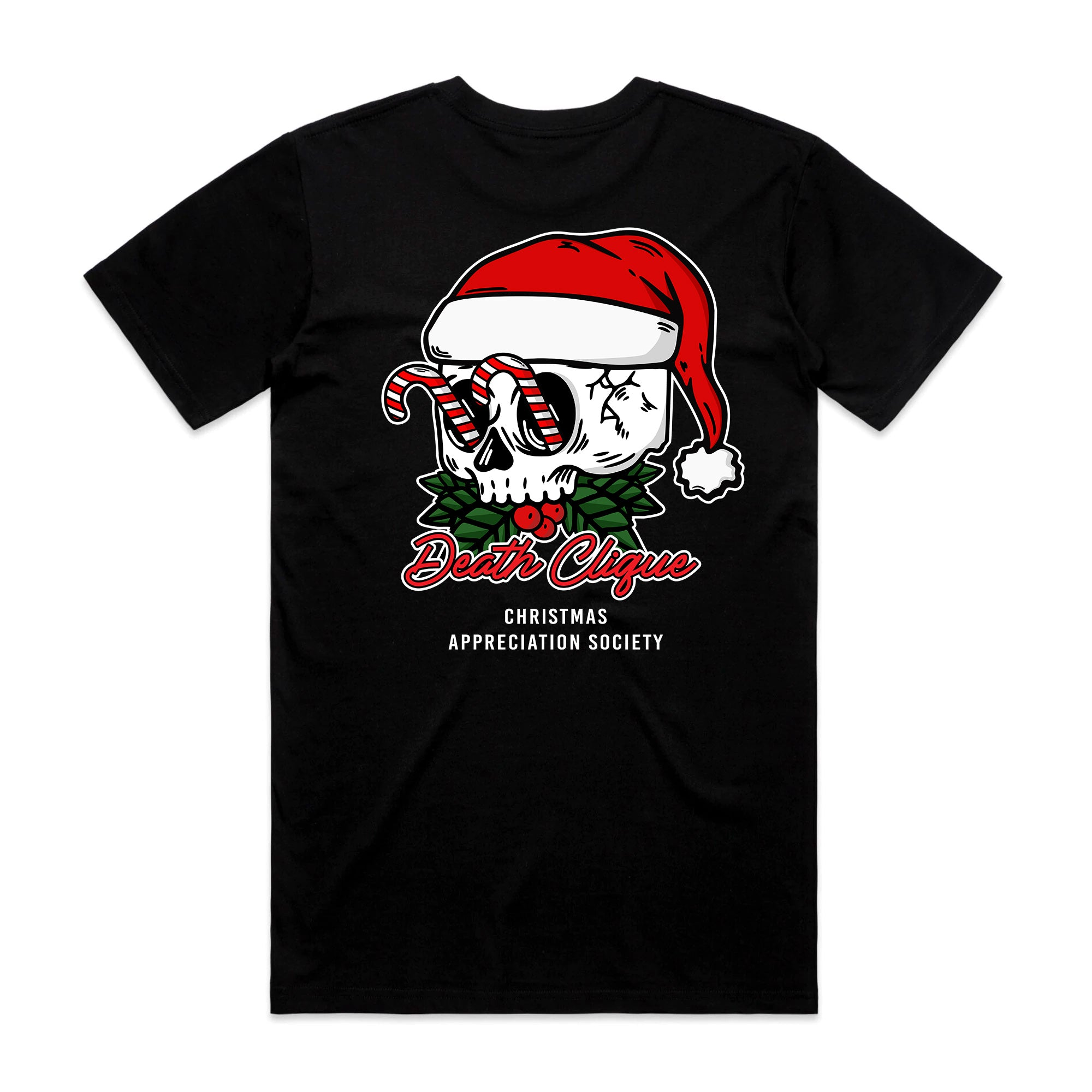 Christmas Appreciation Society Tee - Black