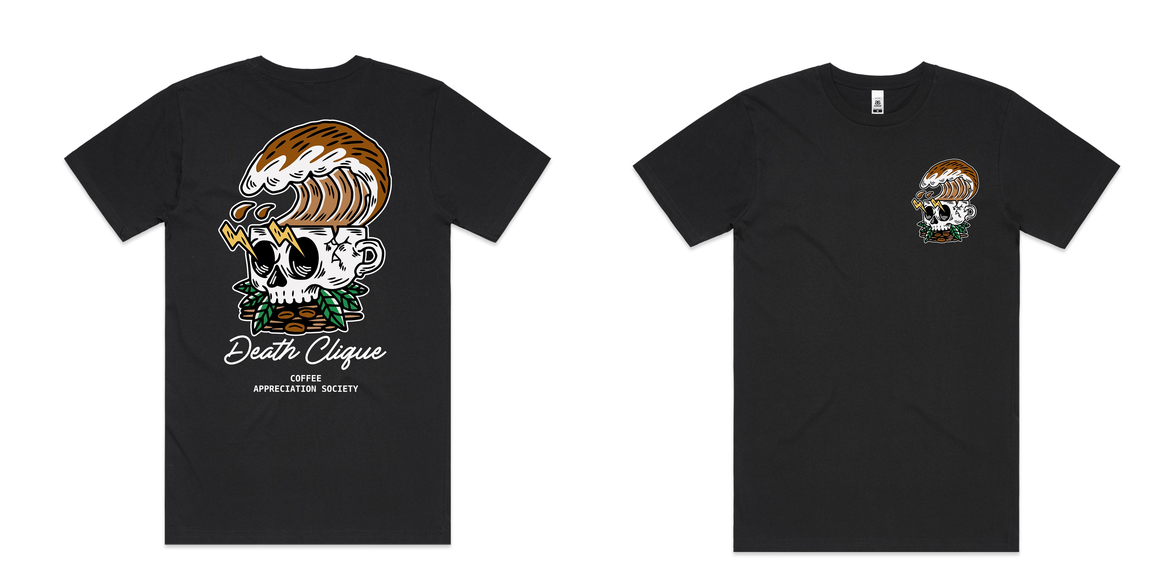 Coffee Appreciation Society Black Tee
