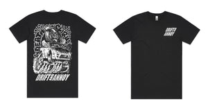 Drift and Annoy Tour Tee Black