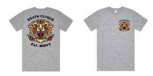 Eyes of the Tiger Tee - Grey
