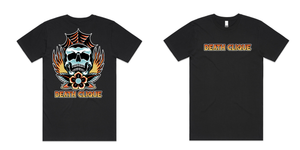 Burn in Death Clique Black Tee
