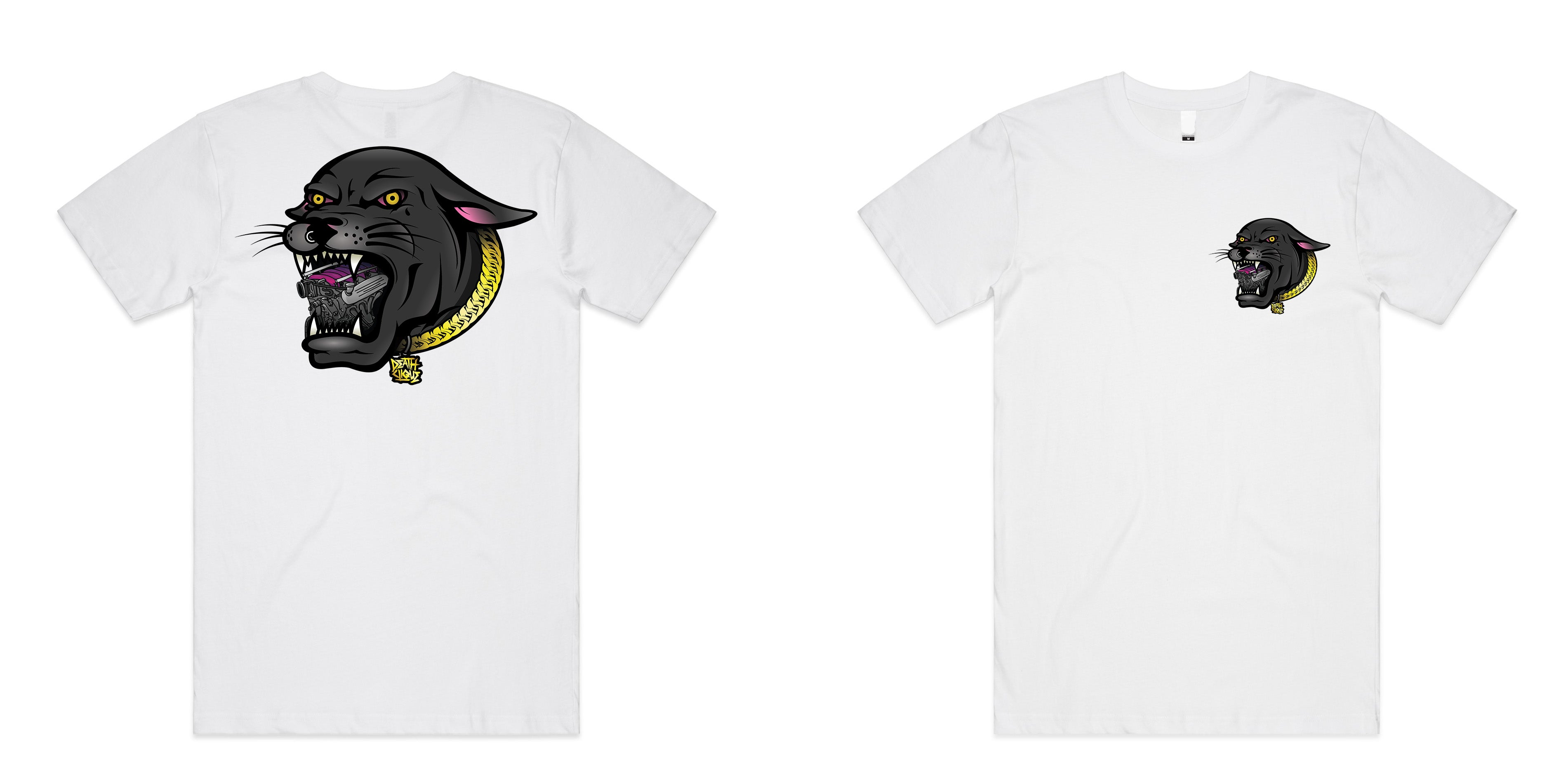 LS Panther Tee - White