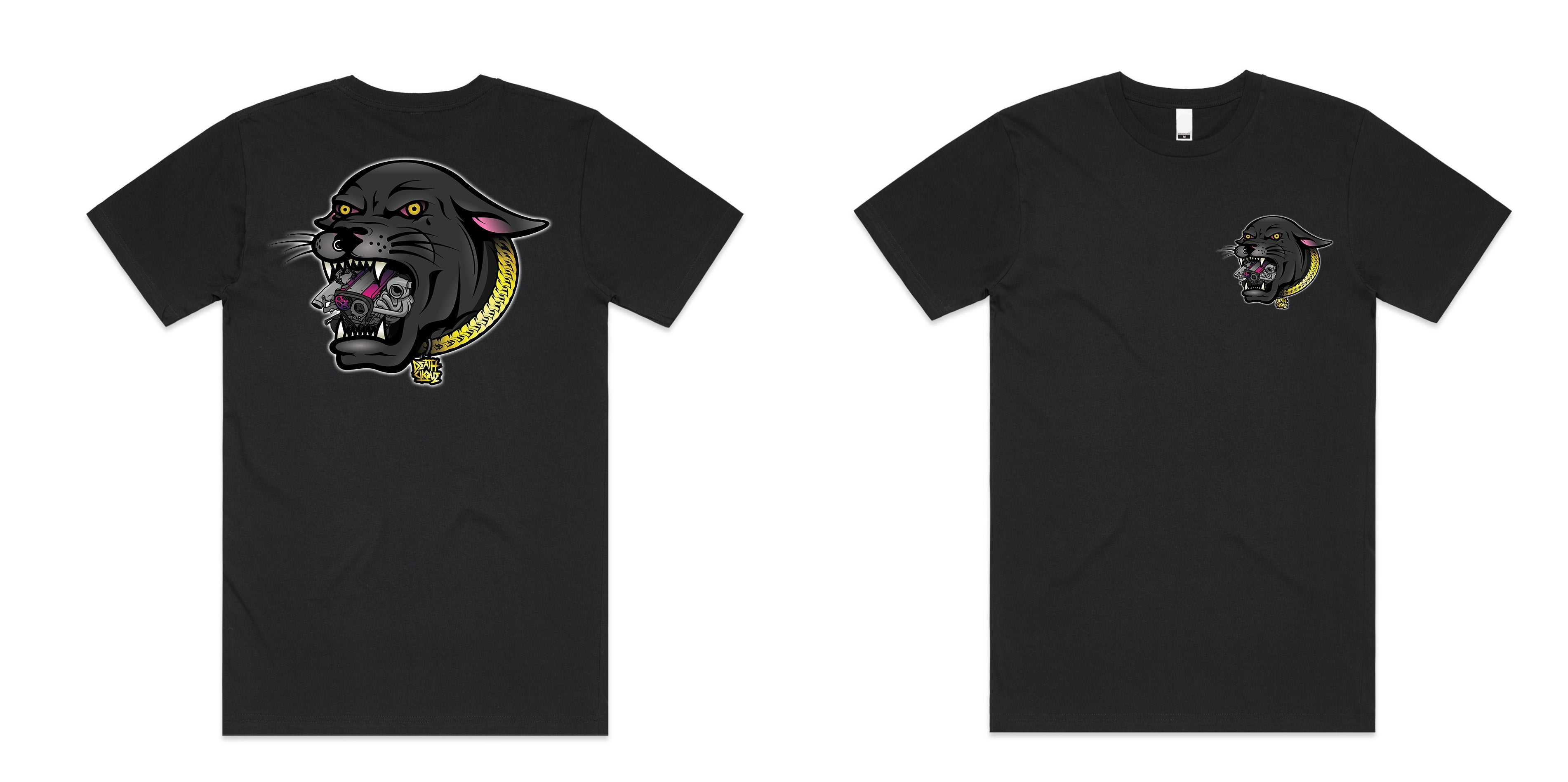 RB Panther Tee - Black
