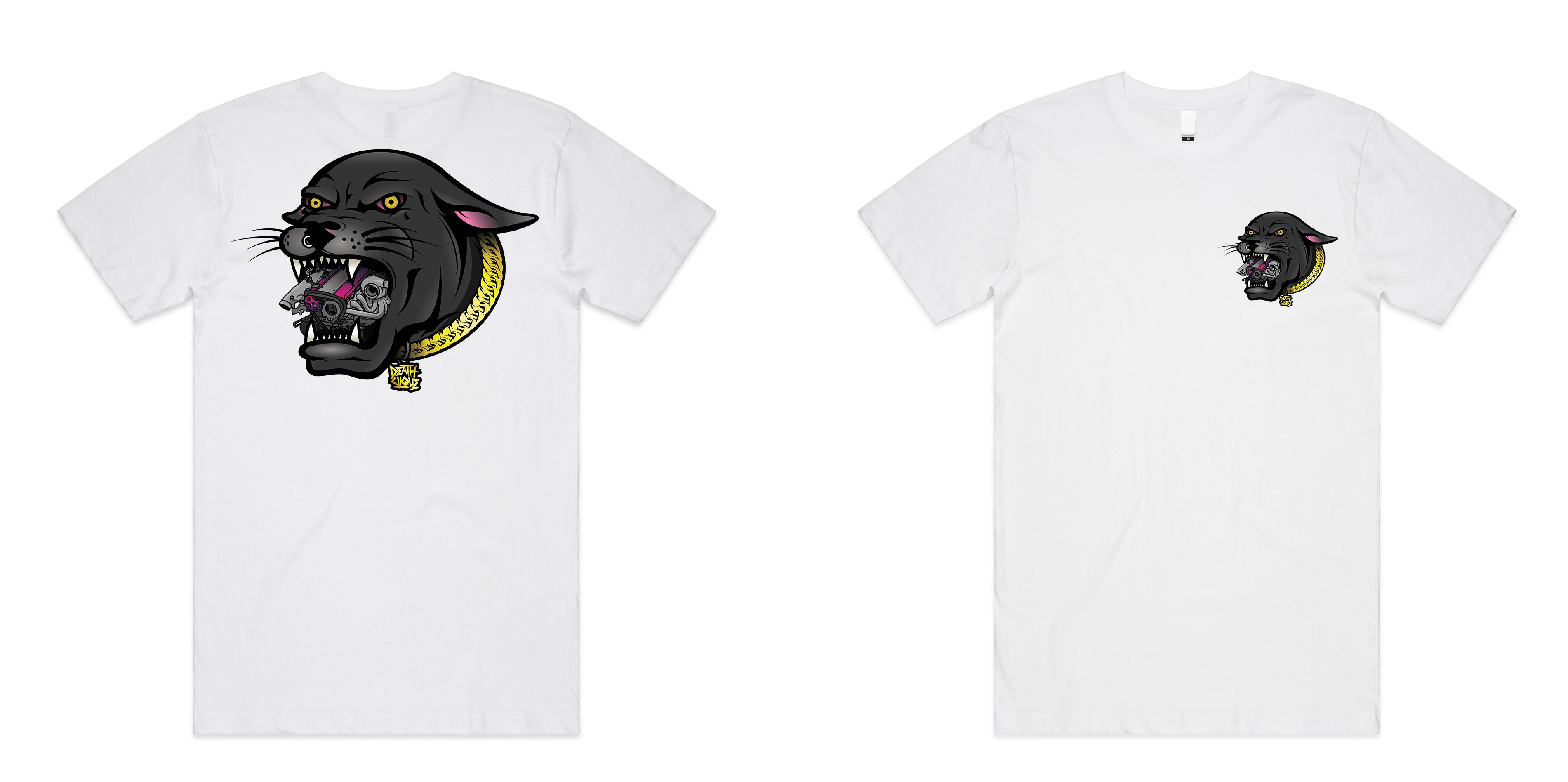 RB Panther Tee - White