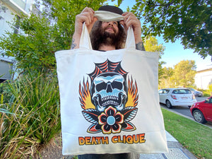 Burn in Death Clique Tote Bag