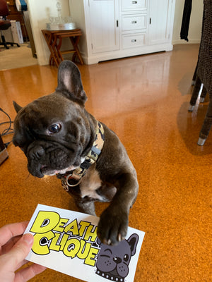 Grim Frenchie Sticker