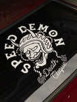 Speed Demons Large Die Cut Sticker