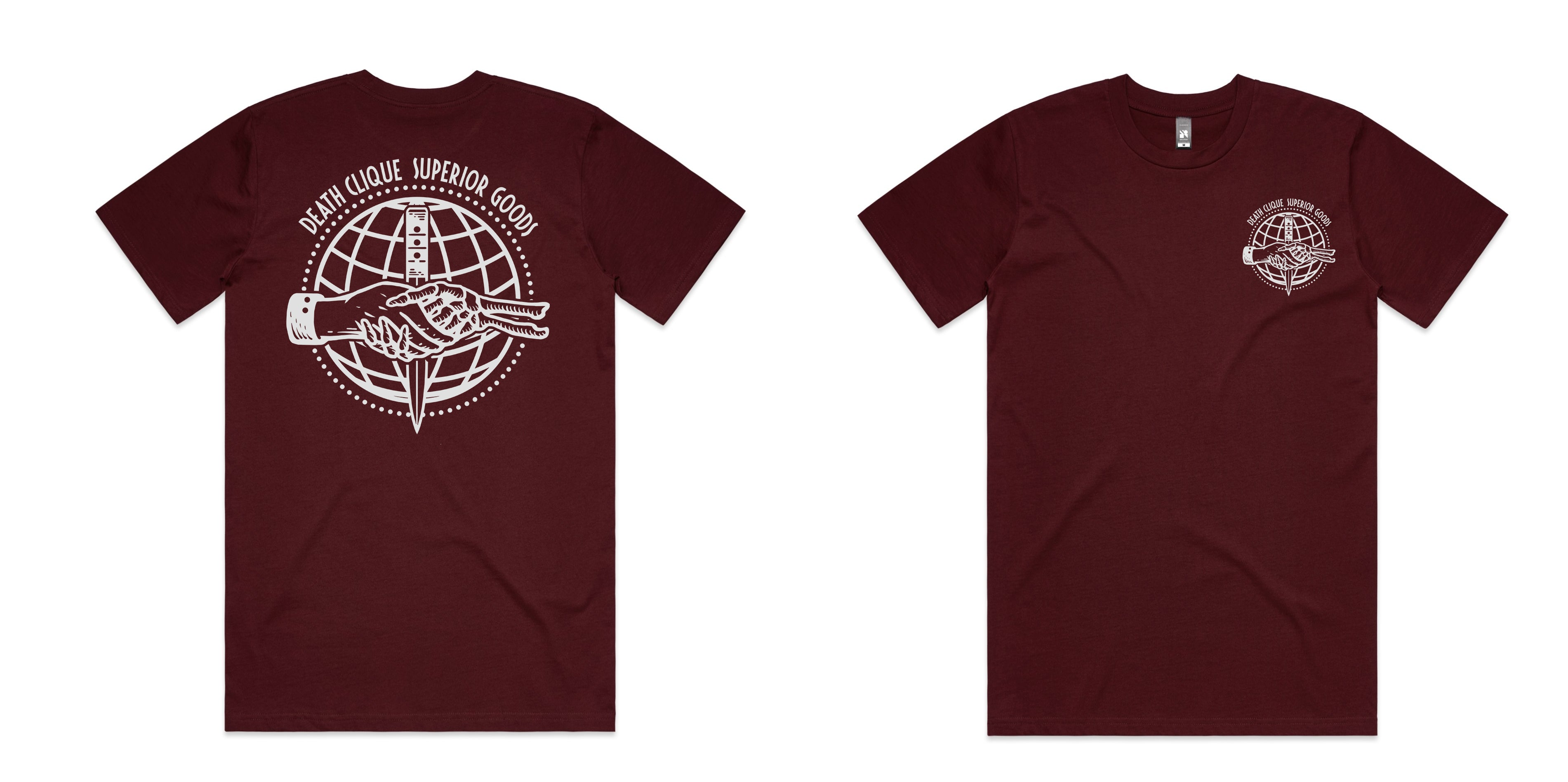 Superior Goods Maroon