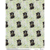 Bear cub wrapping paper