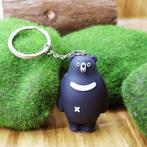 Moonie key ring