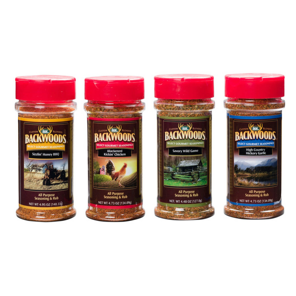 LEM Backwoods Rubs (4-Pack)