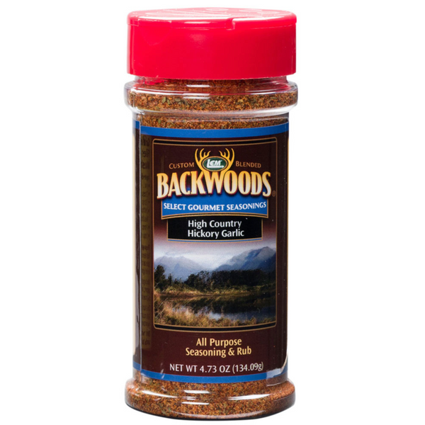 LEM Backwoods High Country Hickory Garlic Rub
