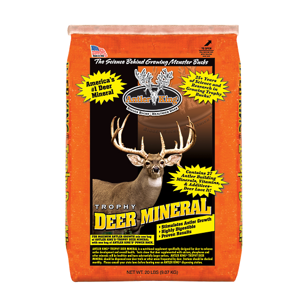 Twenty Pound Bag of Trophy Deer Mineral