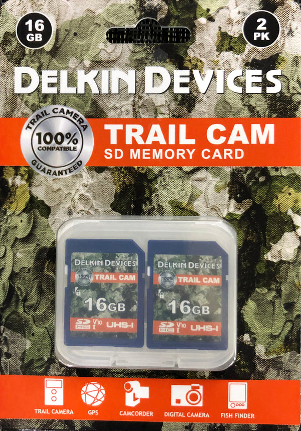 Delkin Devices 16GB SD Memory Card 2 Pack