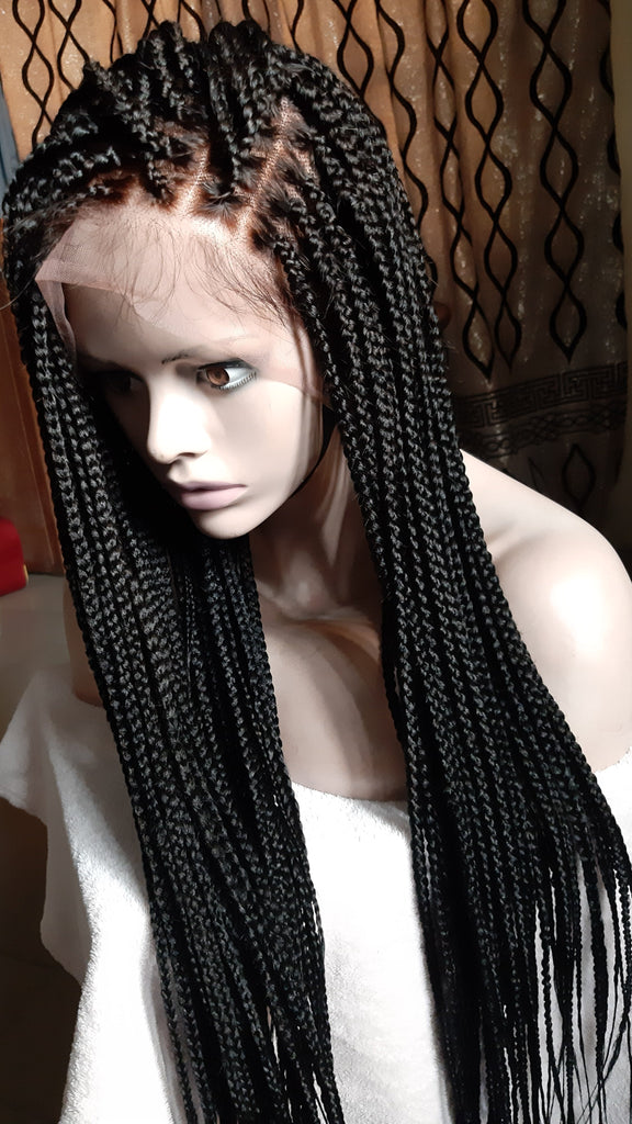Knotless Braids- Most sort after wig