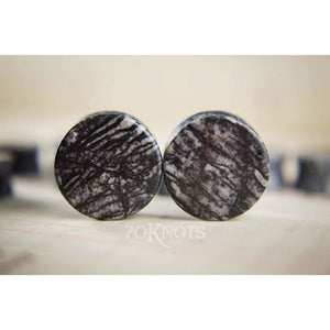 Spiderweb Double Flared Plugs, Pair - 70 Knots
