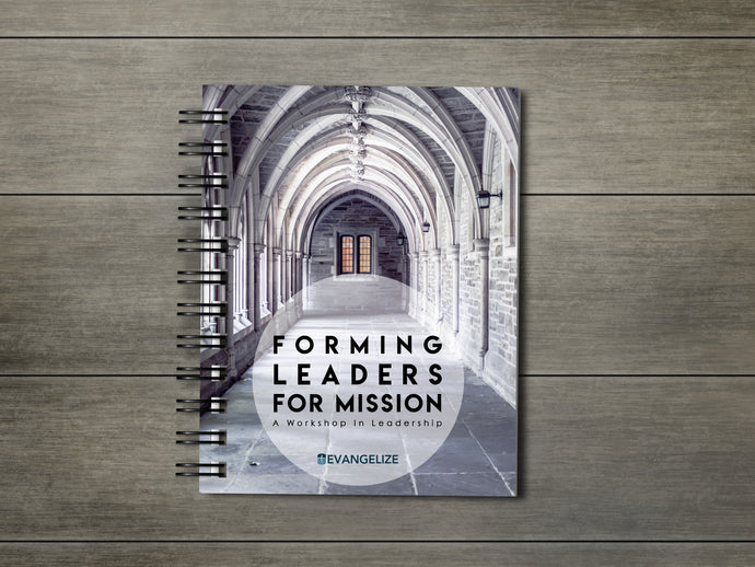 arched church hallway, workbook, forming leaders for mission, evangelize boston, catholic
