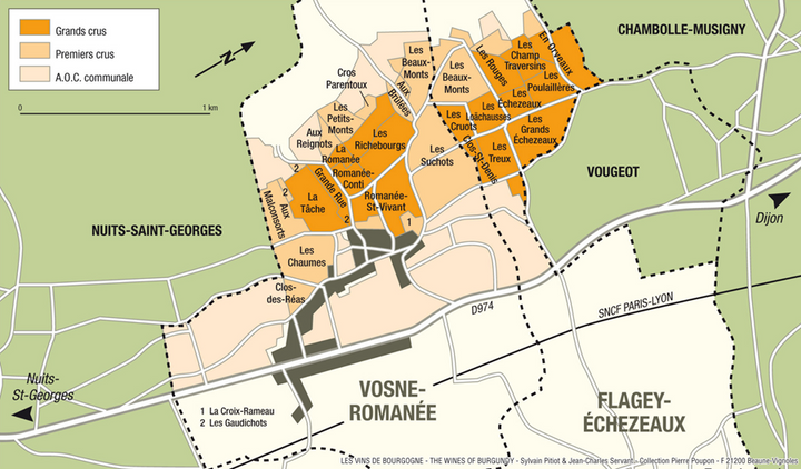 The Burgundy wine classification in detail