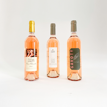 Rosé 6 Pack - Tryptic of Gavoty - Provence