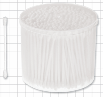 Rounded Cotton Swabs
