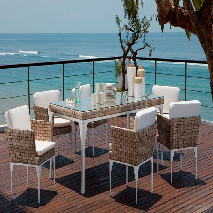 quality outdoor dining table 200 by skyline design