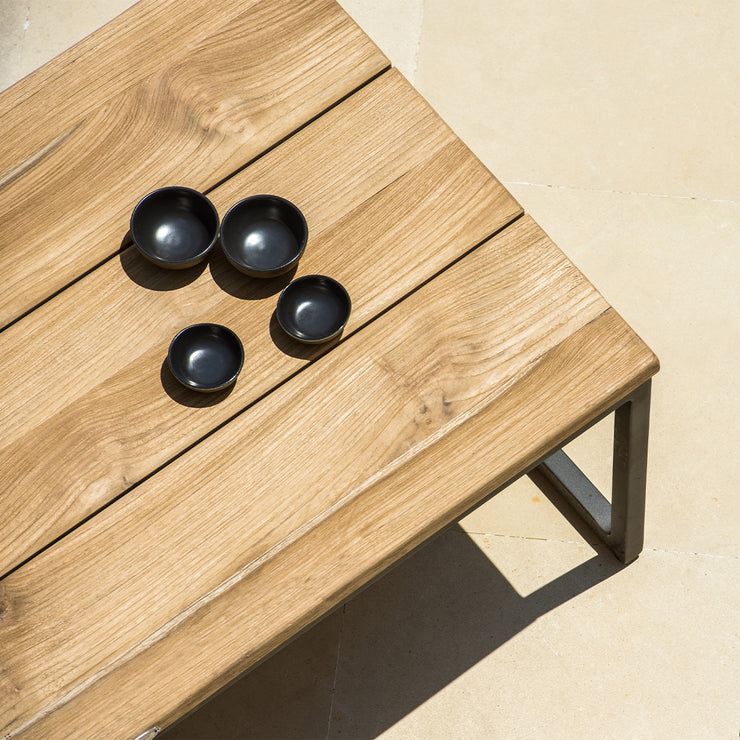quality outdoor rectangle coffee table by skyline design