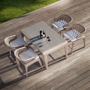 quality outdoor bar table by skyline design