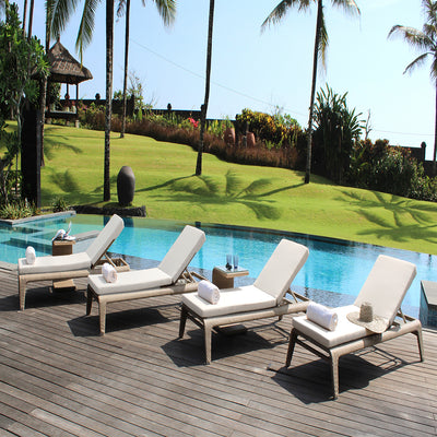 quality outdoor sun lounger by skyline design